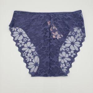 3/$20 Victoria's Secret cheeky lace crown panties